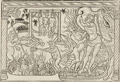 Titre :  Miroir salutaire. La Danse macabre historiée. Les Trois morts et les trois vifs. La Danse macabre des femmes. Le Débat du corps et de l'âme. La Complainte de l'âme damnée  Éditeur :  Guy Marchant (Paris)  Date d'édition :  1486  RES-YE-189  Folio NP
