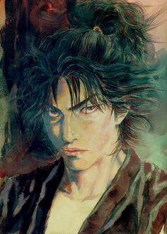 Vagabond Illustration                              Artist: Takehiko Inoue