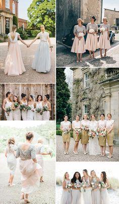 Bridesmaids Separates Inspiration | Bridesmaid Skirt & Top Combo | Bridesmaid Fashion |