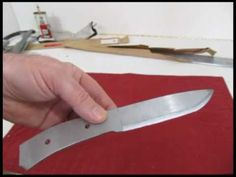 This is a tutorial on how to make a real knife by using the stock removal method which is easier and requires fewer tools and less skill. Great for beginners. I will be using the forge to harden and temper this blade but there are alternatives.   In this half of the tutorial I show you how to make the template, cut out the profile of the knife bl...