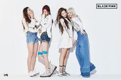 YG Entertainment finally named the new girl group is BLACKPINK. Kim Jennie, Jenny Kim, 2ne1, Girl Bands, Yg Entertainment, Seungri, New Girl, Wattpad, South Korean Girls