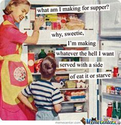 Mumfection: 4 Reasons I Hate Cooking....
