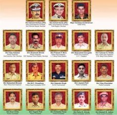 Tributes to the martyrs of 26/11 #MumbaiAttacks . Saluting our bravehearts #Heroes #StandUpForPeace #JaiHind