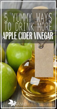 Finally! These five recipes are a yummy way to drink apple cider vinegar.