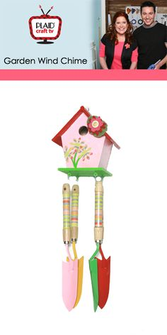 garden tools into a wind chime!