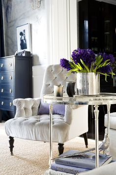 Glam luxe home decor