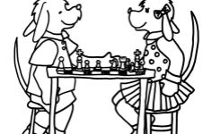 free coloring pages Chess