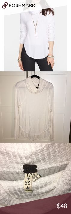 Free People Thermal Authentic Free People drippy thermal, white... Great condition, amazing price!   I'll only consider offers made with the offer button.💰 No trades or low ball offers.🚫 My items are already extremely discounted &  sell very fast. So, if you see something you like... make an offer! 😋  Thanks for looking around my closet! 💖🎀👗👛👠💄  BUNDLE & SAVE 10%!  Top RATED SELLER // SUGGESTED USER ✨ Free People Tops Tees - Long Sleeve