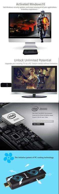 MEEGOPAD T07 Mini PC Cherry Trail x5-Z8300 Quad-core Windows 10 1.84GHz 4G/32G Bluetooth 4.0 Sale - Banggood.com