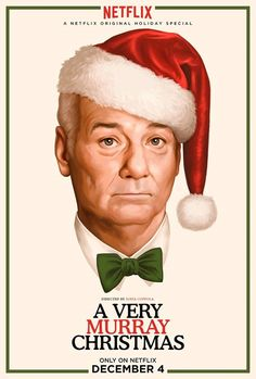 """Bill Murray attempts to make the best of a Christmas event gone wrong in the 2015 Netflix's holiday special """"A Very Murray Christmas."""""""