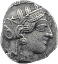The Ancient World   Ancient Greek coin