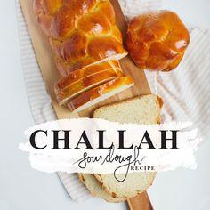 Sourdough Challah Recipe, Challah Bread Recipes, Sourdough Recipes, Friendship Bread Recipe, French Bread French Toast, Sicilian Recipes, Sicilian Food, Jewish Recipes, B Recipe
