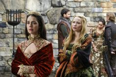 Reign, season 4, episode 10, A better man. Queen Mary and Greer.