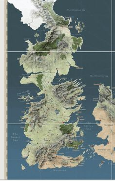 "Finally, The Interactive Map ""Game Of Thrones"" Deserves 