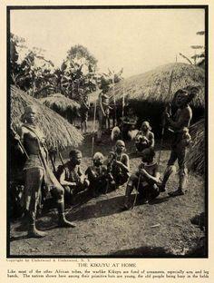 The Kikuyu at Home Kenya 1912
