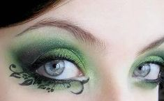 Oooh... woodland fairy makeup :D