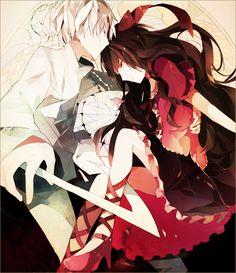 anime, couple, and kagerou project image Manga Love, I Love Anime, All Anime, Anime Guys, Manga Art, Anime Manga, Anime Art, Kagerou Project, Vocaloid