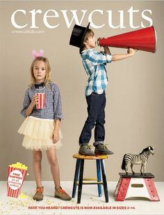 our felt mustache in crewcuts catalog!!! by somethings hiding in here, via Flickr