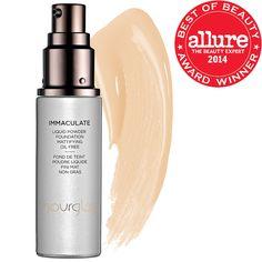 Allure Best of Beauty winner: Hourglass – Immaculate Liquid Powder Foundation Mattifying Oil  #Sephora