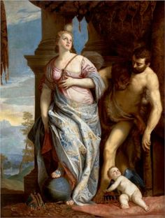Allegory of Wisdom and Strength( The Choice of Hercules or Hercules and Omphale) - Paolo Veronese