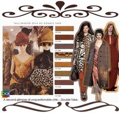 Fall/Winter 2014/2015 Women's Color Trends by Design Options