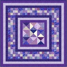 "OPHELIA - 55.5"" - Quilt-Addicts Pre-cut Patchwork Quilt Kit or Finished Quilt Lap size"