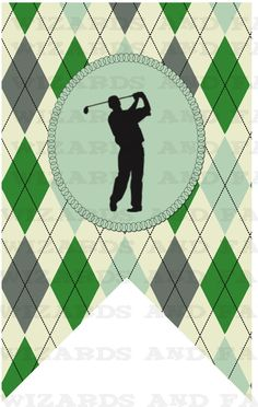 Golf Banner...Personalized with the message of your choice!