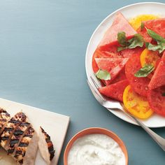 Haven't ever had watermelon in a savory salad? It's surprising, refreshing, and so delicious.