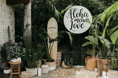 Lucie and Rory - 'The Grove', Byron Bay. Styling by The Events Lounge. Flowers by Poppy & Fern. Photography by Lara Hotz.