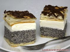 Hungarian Desserts, Hungarian Recipes, Russian Recipes, Low Carb Desserts, No Bake Desserts, Dessert Recipes, Cake Bars, Salty Snacks, Sweets Cake