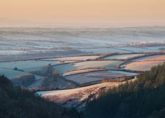Frosty dawn on #Exmoor. Photo by John Spurr. Celebrating Exmoor: A Beautiful Holiday Destination & A Magical Place to Live