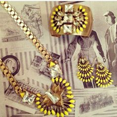 Hello, SUNSHINE! Stella & Dot's new Norah collection - a preview of what's to come for Spring 2014. Available now at www.stelladot.com/brichardson.