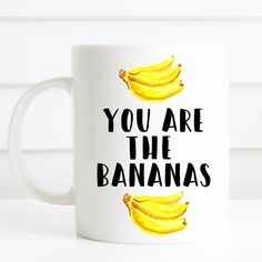 Du bist der Bananen-Becher Becher wirklich niedliches von missharry