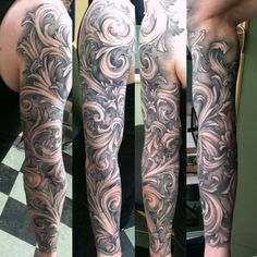 What does filigree tattoo mean? We have filigree tattoo ideas, designs, symbolism and we explain the meaning behind the tattoo. Forarm Tattoos, Life Tattoos, Body Art Tattoos, Tattoos For Guys, Sleeve Tattoos, Full Sleeve Tattoo Design, Forearm Tattoo Design, Forearm Tattoo Men, Filagree Tattoo