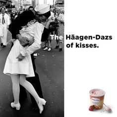 The #HaagenDazs of #Kisses. LOVE this product, LOVE this campaign : )