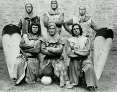 (1974) Monty Python's Flying Circus at Doune Castle, where they filmed Monty Python And The Holy Grail.
