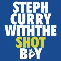 Steph Curry With The Shot Boy by owned