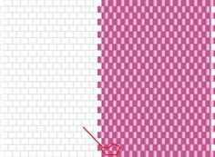 Outside Decrease in Flat Odd Count Peyote Stitch: Getting Into Position and Making the Turn