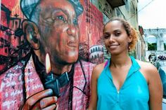 Panmela Castro: Saving Lives Through Graffiti: That's where Panmela came in. She realized she could use her graffitito help spread the word, and so she took to the streets of Rio's hillside favelas, partnering with human-rights organizations to turn underground public art into messages condemning domestic violence.