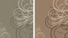 Dois fundos à moda decorativos Foto de Stock