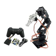 111.57$  Watch here - http://aliivh.worldwells.pw/go.php?t=32664956617 - 6DOF Robot Arm Mechanical Robotic Arm Clamp Claw & Servos & Controller for Arduino TZT2U