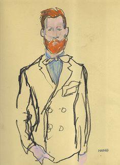 Richard Haines Fashion Illustration