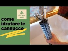 (13) Come idratare le cannucce di carta - YouTube Bath Caddy, Tableware, Youtube, Blue Prints, Dinnerware, Tablewares, Dishes, Place Settings, Youtubers