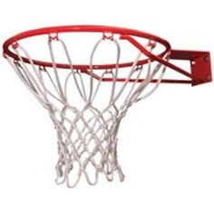 Red Rim w/Net and Hardware LIFETIME PRODUCTS Basketballs & Equipment 5818