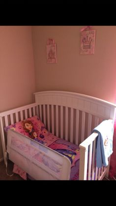 Sofia the First bedding for toddler bed
