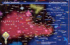 Alpha Quadrant - Cardassian Union