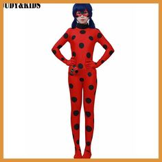 Cheap girls suits, Buy Quality children clothing set directly from China clothing sets Suppliers: Children Clothing Sets Lady Bug Cosplay Sets Ladybug Halloween Christmas Party Custume Kids One-piece Girls Suit Spandex Onesie Girl Costumes, Adult Costumes, Cosplay Costumes, Cartoon Costumes, Costume Ideas, Halloween Party Kostüm, Halloween Costumes, Halloween Christmas, Women Halloween