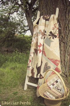 Pretty! Applique Quilts, Ladder Decor, Club, Summer Dresses, Quilting, Pretty, 2013, Display, Sewing