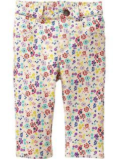 floral fleece pants.