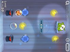 Cut The Rope HD: One of the most addictive and rewarding games on mobile.